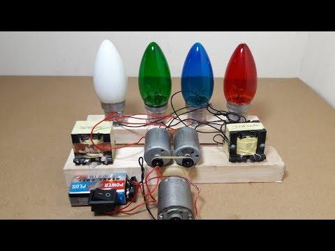 How to Make 220V Energy with 9V Battery