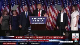 Donald Trump's acceptance speech