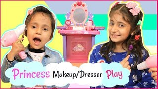 Anantya & Anaya PRETEND PLAY With Princess MAKEUP Set ..   #Review #Toys #MyMissAnand #ToyStars