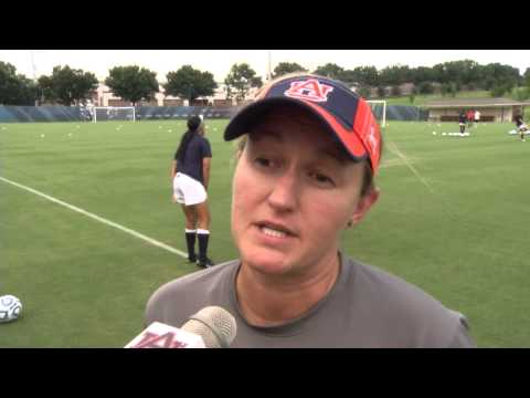 Auburn Head Soccer Coach Karen Hoppa