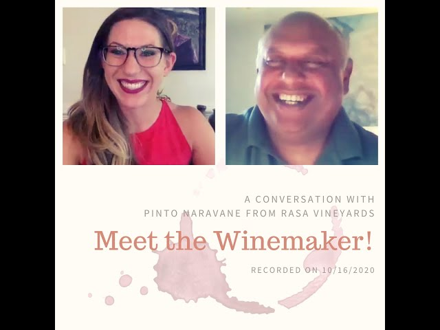 Meet the Winemaker: Pinto Naravane from Rasa Vineyards