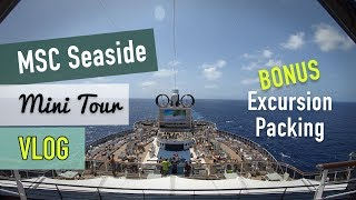 MSC Seaside Caribbean Cruise Vlog and Ship Tour: Day 2 Review