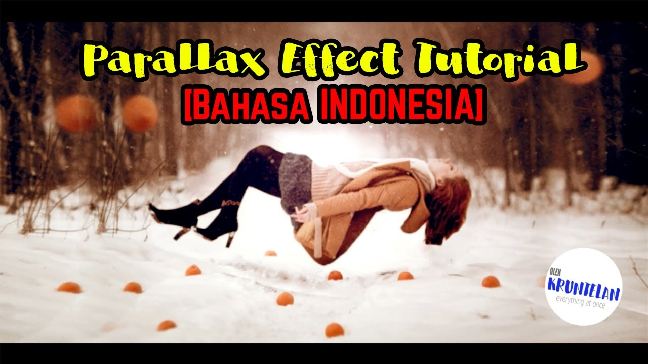 After Effect Tutorial - Parallax Effect [Bahasa INDONESIA