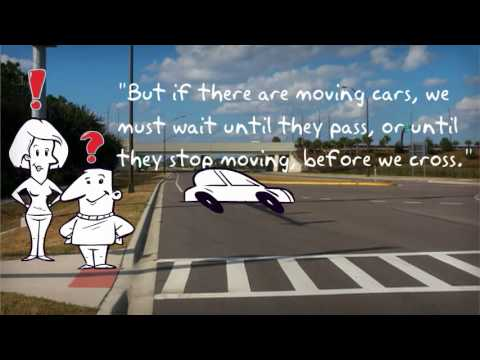 """""""Be Safe"""" an animated crossing the street video"""