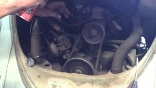 Barn find 63 vw start up after 35yrs of sitting