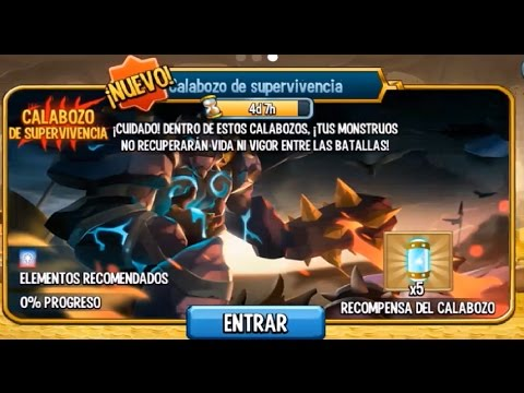 MONSTER LEGENDS| CALABOZO DE LOS GUARDIANES-PART.1