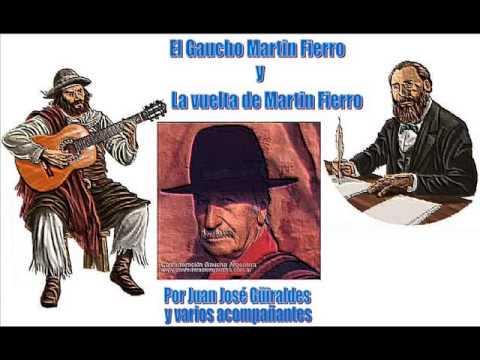 El Martin Fierro los dos libros recitados completo