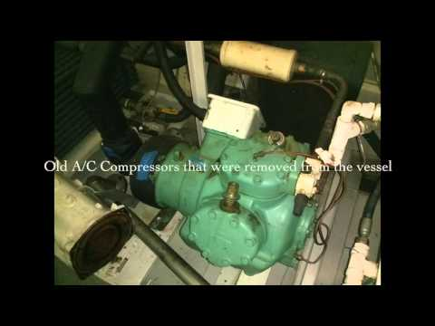M/Y FAM Full Air Conditioning Refit Australian Yacht Builders 192'