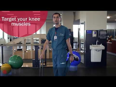 Knee Stretch Exercise