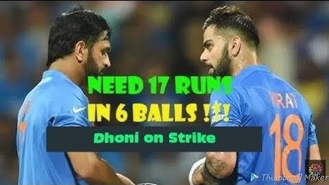 india need 17 runs in 6 ball against australia   most shocking t20 finish  highlights
