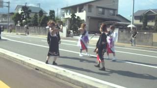 Dancing in Japanese kimono dress ! Amazing style ! lLive in Murayama , Yamagata