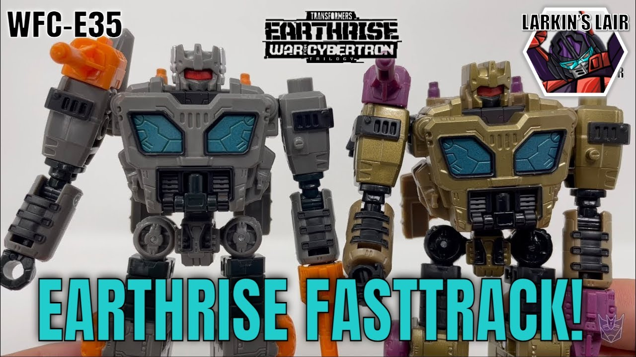 Transformers Earthrise Fasstrack WFC-3 Review by Larkin's Lair