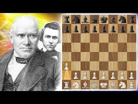 """Grand Opening"" - Anderssen beats Morphy with 1.a3!"