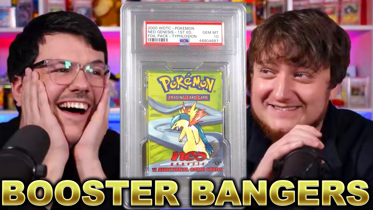 BOOSTER PACK PSA RETURN - Epic Neo Genesis / WOTC / Base & MORE