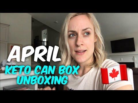April Keto Can Unboxing - Keto Subscription Box