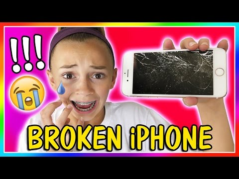 KAYLA BROKE HER iPHONE! | CAN WE FIX IT? | We Are The Davises