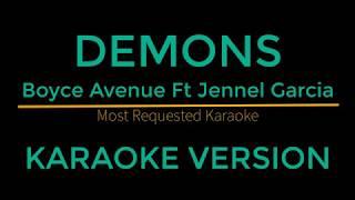 Demons - Boyce Avenue Ft Jennel Garcia (Karaoke Version)
