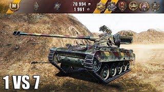 AMX 13 105 мало снарядов, много врагов 🌟🌟🌟 World of Tanks лучший бой амх 13 105