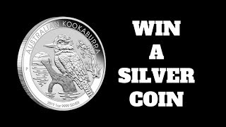 Free Silver - Win a Silver 1oz Coin - Subscriber Giveaway - CLOSED - Winners to be drawn