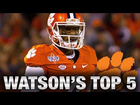 Clemson's Deshaun Watson: Top 5 Favorite Plays Of The Season