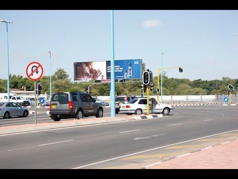 Entering Gaborone