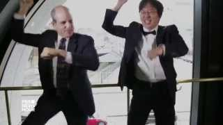 Why's Paul Solman dancing to Gangnam Style?