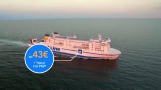 Mit TT-Line entspannt von Rostock nach Schweden reisen!