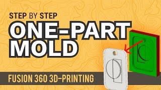 So Erstellen Sie eine einteilige Form in Fusion 360 - Lernen Sie die Autodesk Fusion 360 in 30 Tagen: Tag #20