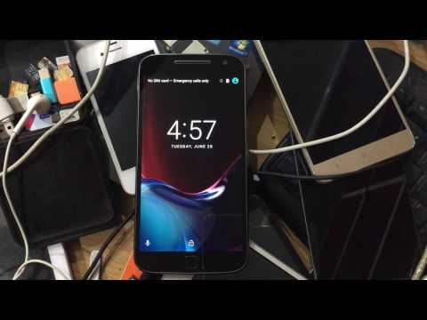 How to Remove FRP On  Lenovo Moto G4 Plus XT1643 ASPL 1 May 2016.