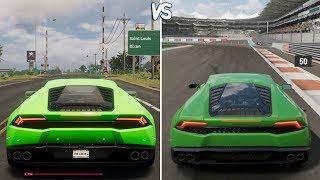 The Crew 2 Vs Forza Horizon 3 - Lamborghini Aventador