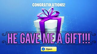 "Fortnite Battle Royale ""Best Gift Ever"" Best Reaction *Thank You Awesomepro_913*"