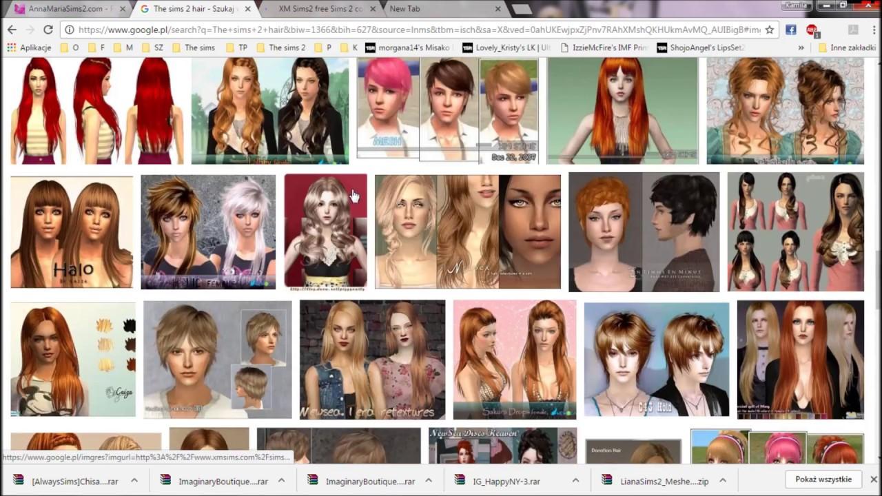 The Sims 2 Strony Z Których Pobieram Cc Ubrania Meble