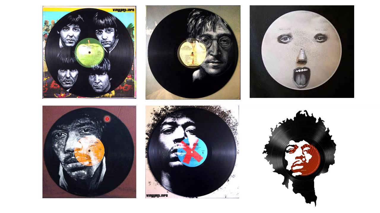 Vinyl Record Painting- lecture