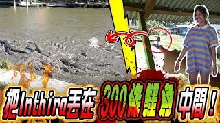 【女王S2#5】偷偷约了Inthira 一群好友替她庆生!再把她丟到300條鱷魚的池中間唱生日歌!超驚險(Jeff & Inthira)