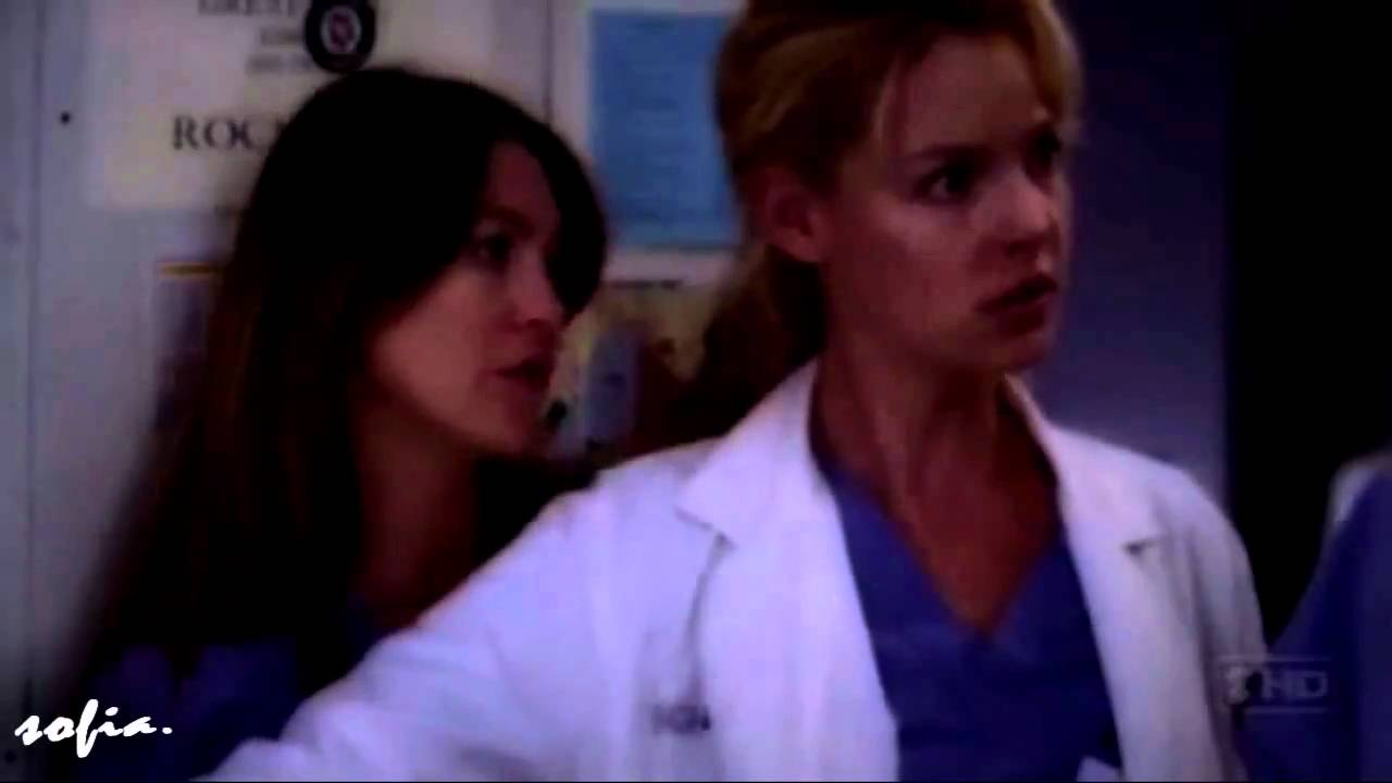 Grey's Anatomy - Callie and Meredith fight - HD - YouTube