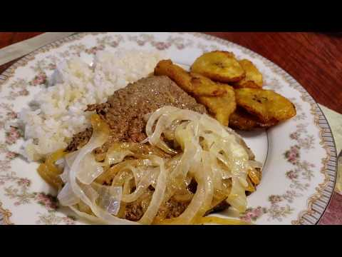 How to make a Cubed Steak very Tender with Onion