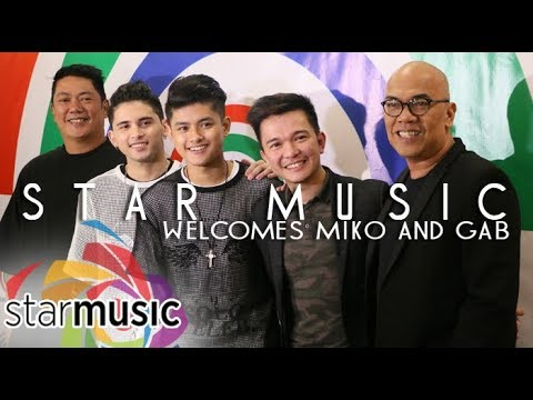 Star Music Welcomes Miko Gab Contract Signing Youtube