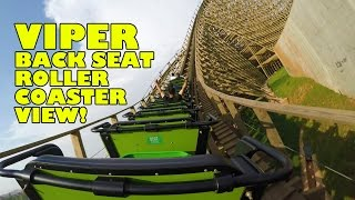 Python in Bamboo Forest (Viper) Wooden Roller Coaster Back Seat POV! Nanchang Wanda Park China