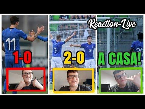 A CAAASAAAAA!! KEEEAAAAN!!! FRANCESI A CASAAAA!! REACTION-LIVE - Italia-Francia 2-0