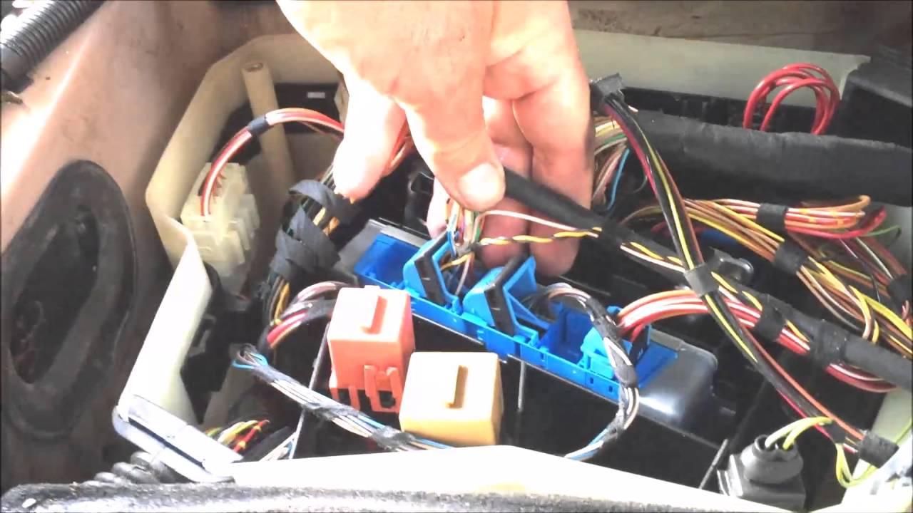 Starter Wiring Diagram 528i Tcu Replacement Youtube