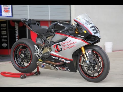 Ducati 1199 S Panigale Tuning - IDM Superbike by Hertrampf