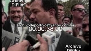 Jose Peña Gomez Enfrentara En Ballotaje A Leonel Fernandez   Elecciones Republica Dominicana 1996