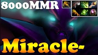 Dota 2 - Miracle- 8000MMR Plays Spectre - Ranked Match Gameplay