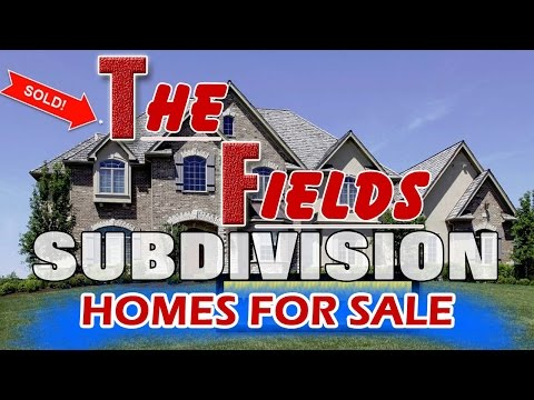 The Fields Home For Sale Near Thayer J Hill Middle School
