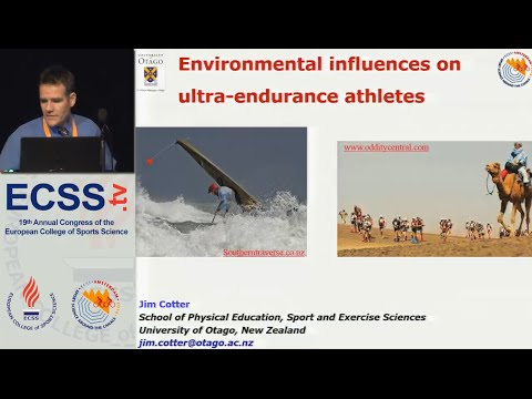 Environmental Influences on Ultra-Endurance Athletes Dr. Cotter