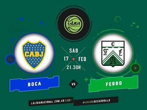 #LaLigadeDesarrollo | 17.02.2018 Boca Juniors vs. FerroCarril Oeste