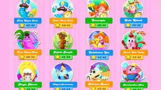 Character On Level 256 - 420 | Episode World 19th-29th Candy Crush Soda Saga!