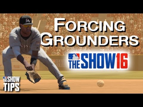 MLB The Show 16 - How to force ground balls
