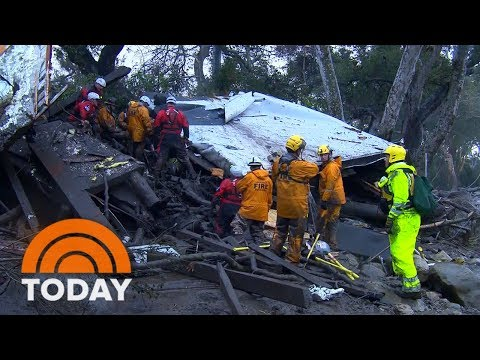 Death Toll Rises To 18, 7 Still Missing After Devastating California Mudslides | TODAY