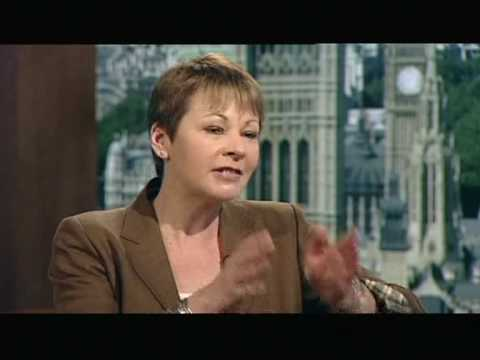 Caroline Lucas (Green Party) on Andrew Marr Show
